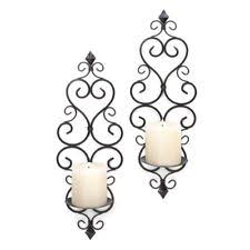 Yankee Candle Wall Sconce Wrought Iron Candle Holders U0026 Accessories Ebay
