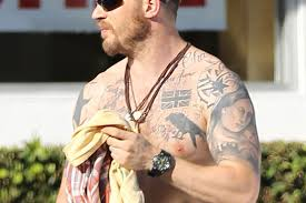 tom hardy exposed u2026 what do the star u0027s tattoos really mean u2013 the sun