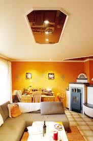 Wohnzimmer Decke Wohnzimmer Mit Ofen Umgestaltet Plameco Decken Fachbetrieb