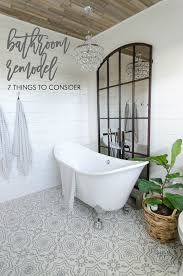 7 things to consider before beginning a bathroom remodel shiplap