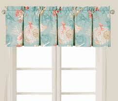 theme valances stylish and peaceful themed curtains valances coastal window