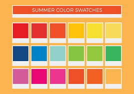 color swatches free summer vector color swatches download free vector art stock