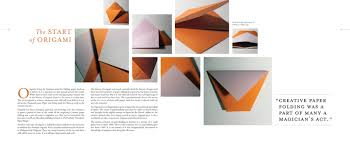 unfolding the art of paper folding book and kit graphis