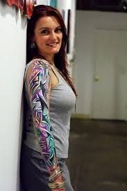 ideas color sleeve tattoos designs
