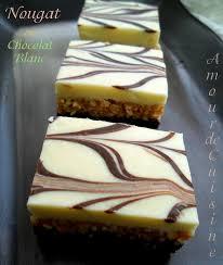 gateau amour de cuisine nougat au chocolat blanc gateau sans cuisson amour de cuisine