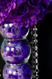 violet purple diy purple passion wedding centerpiece in 3 easy steps
