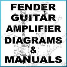 over 800 fender guitar amps wiring schematics manuals for sale