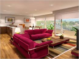 Burgundy Living Room by Living Room Color Schemes
