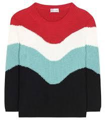 sweater brands valentino coat pink redvalentino cotton knit sweater