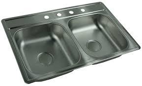 Kitchen Sink 33x22 by 100 White Kitchen Sink 33x22 Standard Plumbing Supply