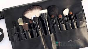 makeup artist belt bh cosmetics makeup brushes and brush belts review
