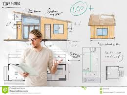 Floor Plan Blueprint House Layout Floorplan Blueprint Sketch Concept Stock Illustration