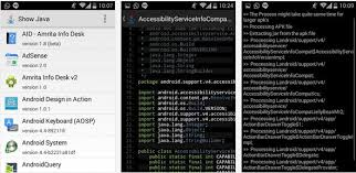 how to see apk source code see java source from apk easily on your android phone