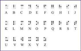 english braille alphabet code to symbolize pinterest