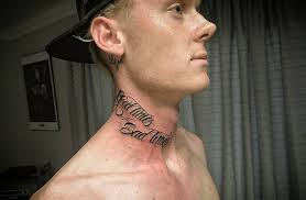 neck tattoos for designs