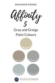 benjamin moore affinity the best neutral beige gray paint