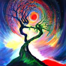 dancing tree spirits u0027 by annie b
