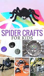 25 spider crafts for kids in the playroom
