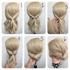 Hochsteckfrisurenen Selber Machen Einfach Schnell by Frisuren Schnell Und Einfach Faule Haare Frisur