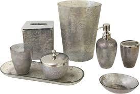 paradigm trends 8 piece lava grey bathroom accessories set hayneedle
