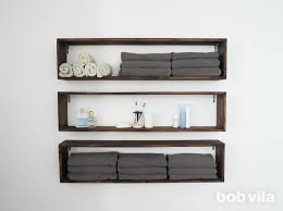 Bathroom Wall Shelves Diy Wall Shelves In The Bathroom Tutorial Bob Vila