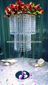 Crystal Vases For Centerpieces Shabby Chi Acrylic Crystal Vases Wedding Chandelier Centerpieces