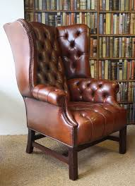 high back leather sofa leather chairs of bath leather wing chair chelsea design quarter