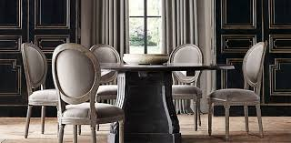 All Round Tables Restoration Hardware Formal Dining Room - Restoration hardware dining room tables
