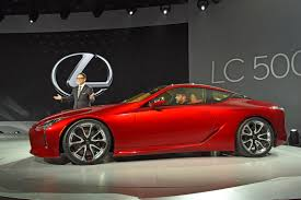 new lexus sports car concept lexus rolls out the big guns new 467bhp lc 500 coupe revealed in