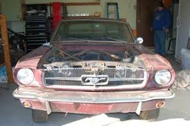mustang restoration project for sale 1965 ford mustang coupe restoration project