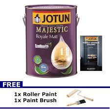 jotun majestic matt 5l interior paint classic colors 3 11street