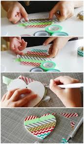 washi ornaments