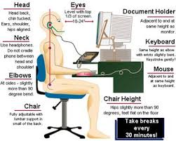 Computer And Desk Stretches Computer Ergonomics And Stretches