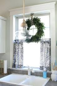 Gray Cafe Curtains Decorating Kitchen Adorable 10 Inch Tier Curtains Cafe Target