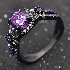 amethyst rings images February black gold filled amethyst ring birthstone deals jpg