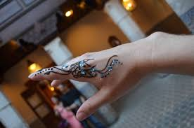 henna in epcot disney momma