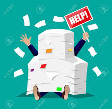 a souligné l homme d affaires sous la pile de papiers de bureau et
