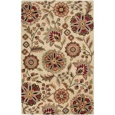 artistic weavers sarah ivory 8 ft x 11 ft area rug sar 5035