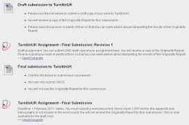 Add instructions in Blackboard to direct students to the Draft Assignment link University of Bradford
