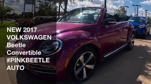 volkswagen beetle pink convertible new 2017 volkswagen beetle convertible pinkbeetle auto youtube