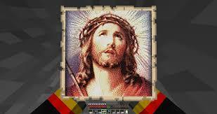 2b2t Map No More Infidels Map Art Island Brings Jesus To 2b2t 2b2t