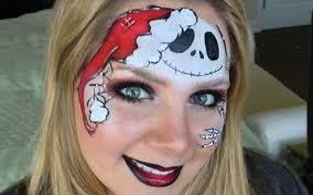 jack skellington nightmare before christmas face painting youtube