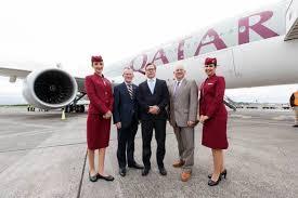 Qatar Airways Qatar Airways Shrugs Crisis As Dublin Route Launched