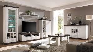 Wohnzimmerschrank Pinie Weiss 3 Tiena In Pinie Weiß Und Wenge Haptik Inkl Led