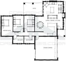 Three Bedroom Townhouse Sensational Design 14 Floor Plans For South African Homes 4
