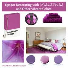 pantone color of the year 2014 radiant orchid decor color and