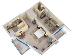 3d Floor Plans Hilton Barbados Resort Floor Plan 3d Suite