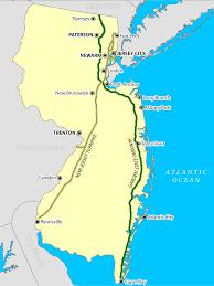 I 95 Map Brücken Und Tunnel Im New Yorker Hafen