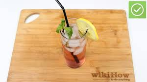 vodka tonic lemon how to make a vodka and tonic 10 steps with pictures wikihow