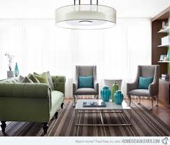 Green Color Schemes For Living Rooms 15 Lovely Grey And Green Living Rooms Home Design Lover